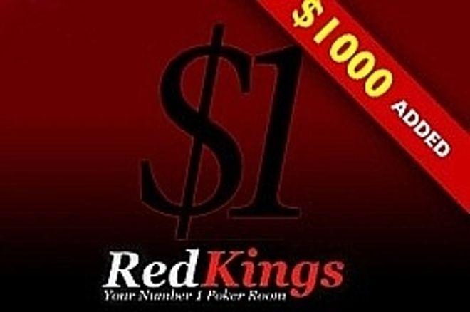 RedKings 扑克继续每周 $1,000额为附加的系列赛 0001