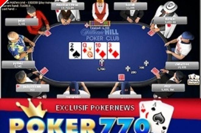 Torneos especiales PokerNews: Poker 770 ofrece el 27 de mayo 10.000$ 0001
