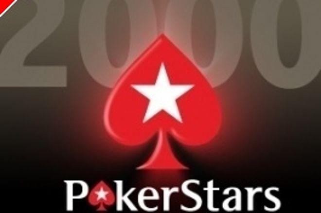 Osale meie tänasel PokerStarsi $2000 freerollil! 0001