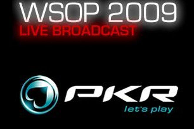 PKR.com live-streaming fra WSOP 2009 0001
