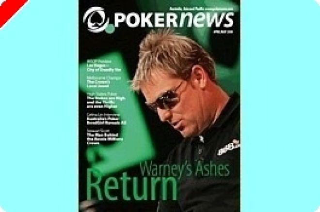 PokerNews 오스트레일리아 잡지 발행. 0001