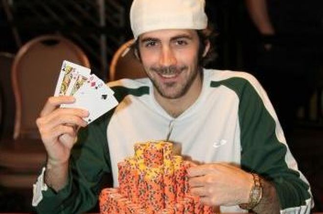 Jason Mercier wint WSOP $1500,- PLO event WSOP 2009 0001
