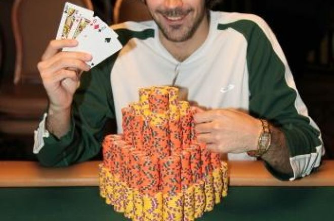 2009 WSOP Събитие #5, $1,500 PLO: Първа Гривна За Jason Mercier 0001