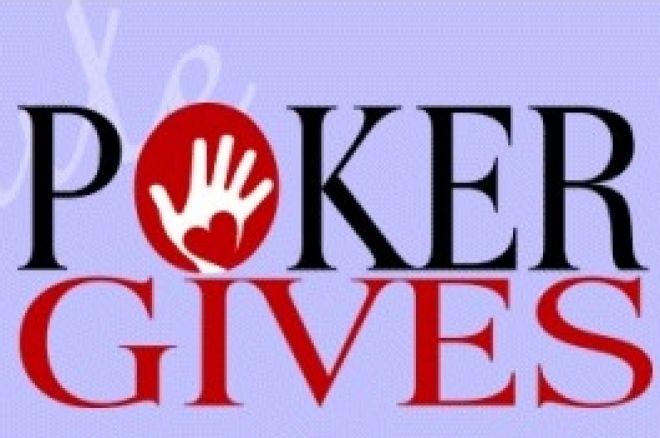 PokerGives Raccoglie $10'000 per Beneficenza nel Primo Evento 0001