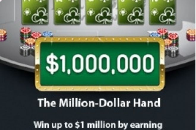 Ganhe $1,000,000 com a Party Poker Million Dollar Hand 0001