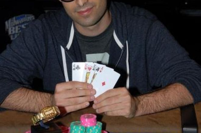 2009 WSOP: #18 Omaha Hi/Lo, Daniel Alaei Взе Гривната 0001