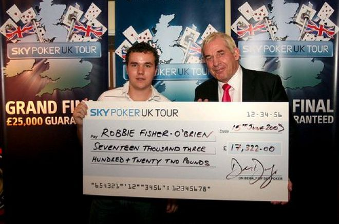 Robbie O'Brien - Interview with SPUKT Champion Robbie O'Brien 0001