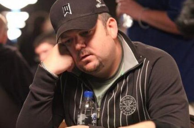 John Kabbaj Massive ChipLeader in $10,000 Pot Limit Hold'em, Fullflush Takes Swipe at Feldman 0001