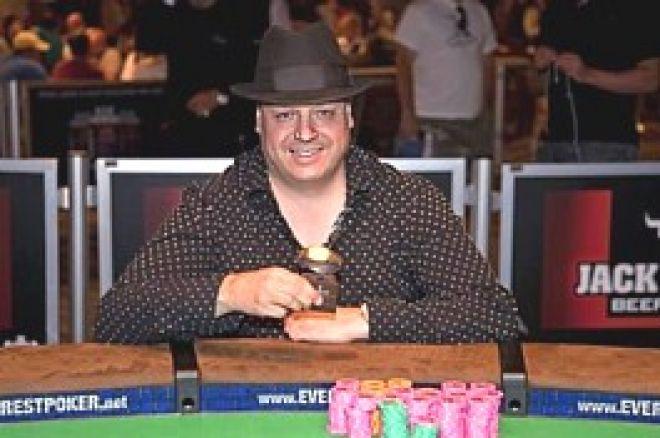 """2009 WSOP: ラズ #44 Lisandro ブレースレット獲得 """"スタッド三冠王"""" 0001"""