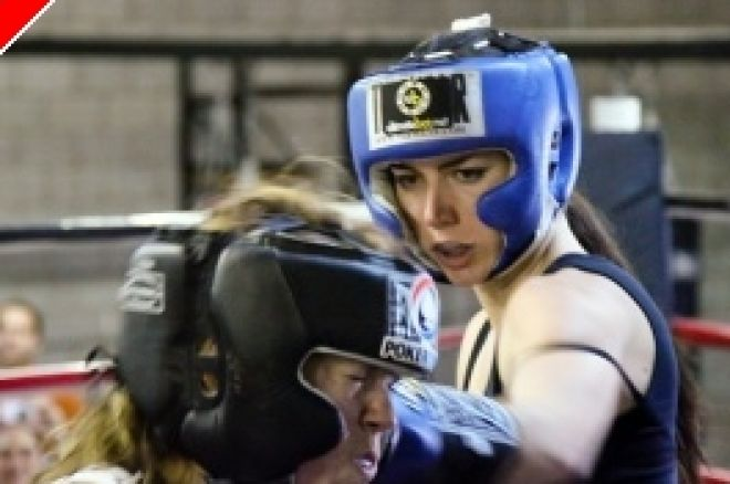 Liv Boeree разби Melissa Castello в боксов мач 0001