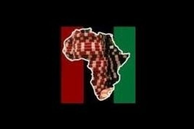 Ante Up For Africa logo