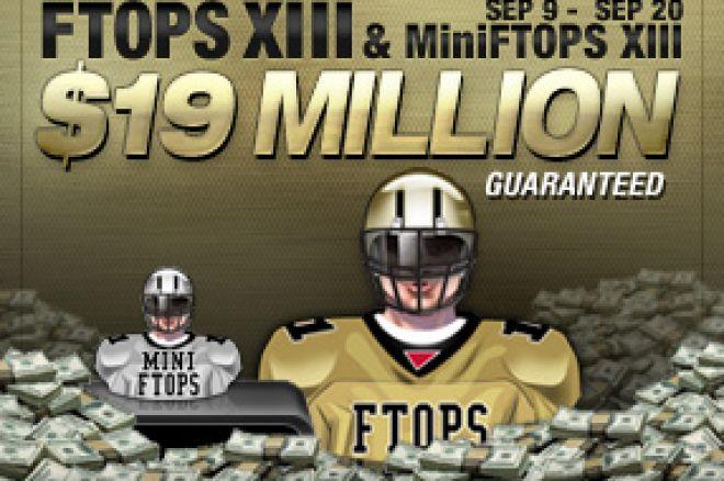 Full Tilt Poker Anunciou Datas das FTOPS XIII e MiniFTOPS 0001