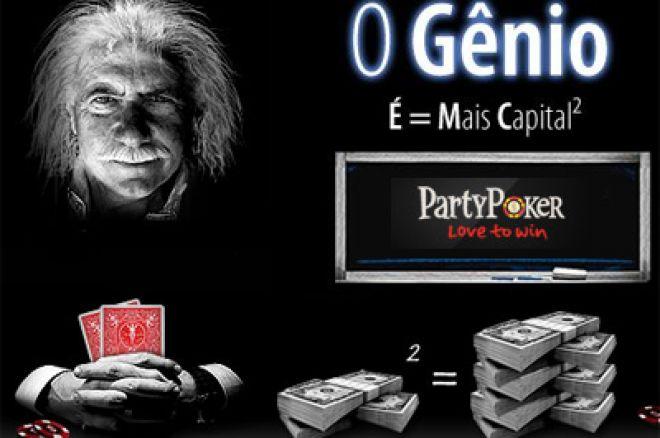 Party Poker Prolonga Promoção 'O Génio'! 0001