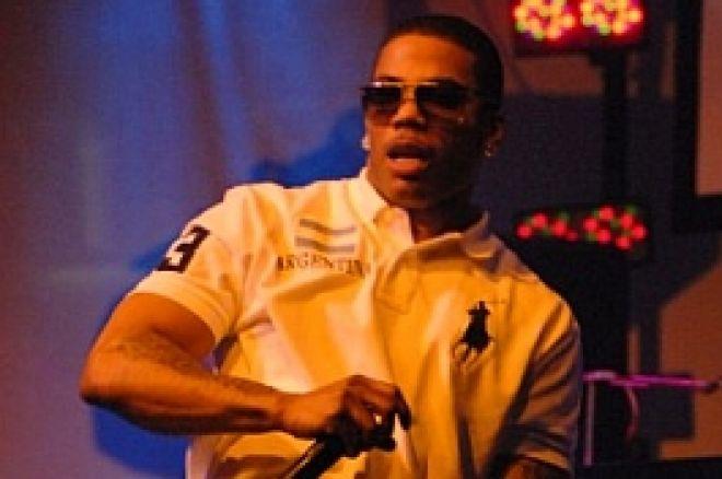 Хип-хоп Звездата Nelly Блесна на PokerStars Партито в Palms 0001