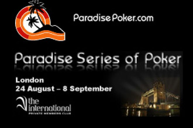 Paradise Poker Apresenta as Paradise Series of Poker 2009 0001