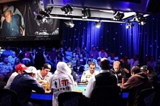 wsop feature table