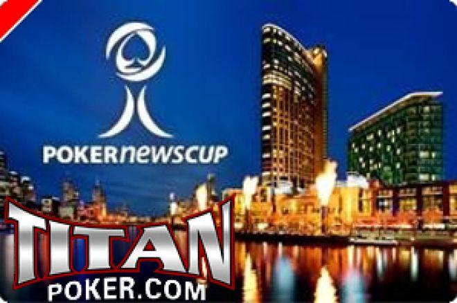Hoje às 19:00, PokerNews Cup $6,000 Freeroll na Titan Poker 0001