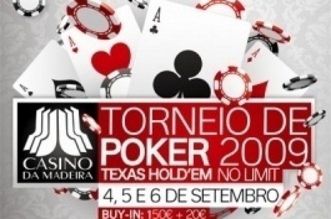 Ganhe um buy-in de €170 para o Torneio Casino da Madeira 0001