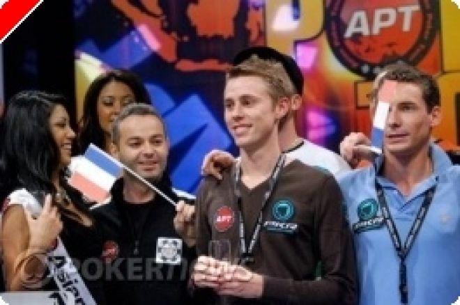 Asian Poker Tour Macau 메인 이벤트의 승자 0001