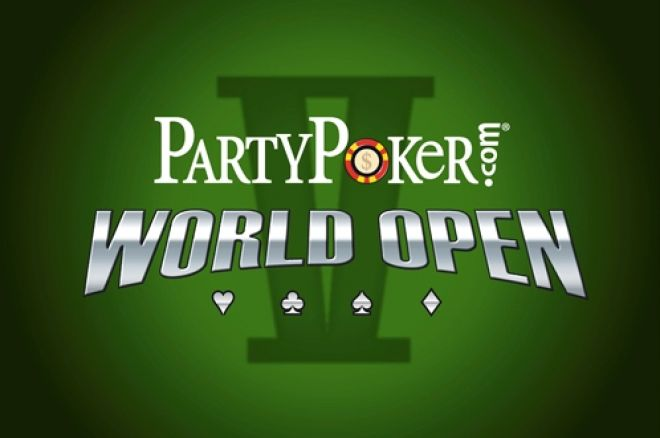 PartyPoker World Open V News, GUKPT Coventry and APAT WCOAP Begin Today 0001