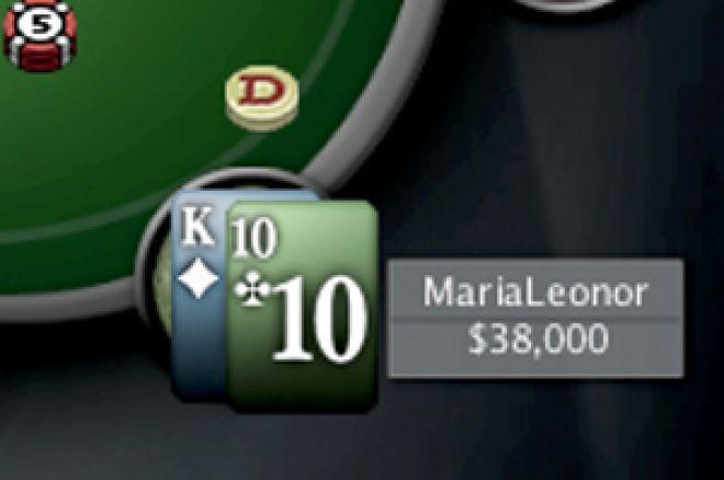 'MariaLeonor' Ganha o 6º Torneio da Liga Portugal/Espanha PokerNews 0001