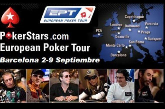 Hoy, desde las 13:30 horas, seguimiento en directo del PokerStars.com EPT de Barcelona. Mesa... 0001