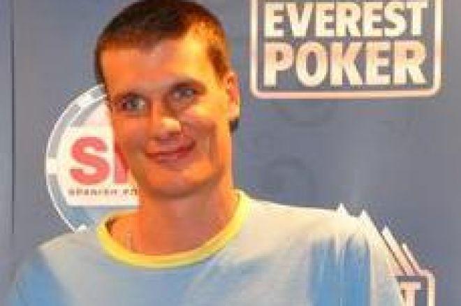 Spanish Poker Tour Vilamoura 2.009 -- Nicolas Paloniato, ganador del torneo 0001