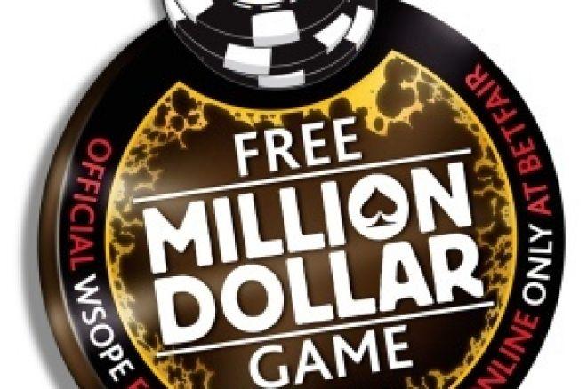 Старт на Безплатната Игра за Милион Долара на Betfair... 0001