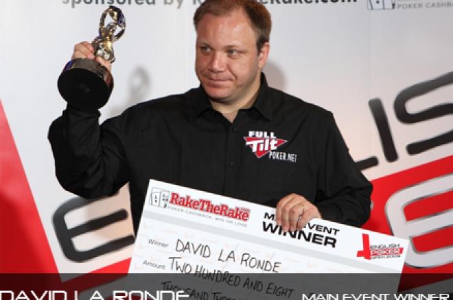 David La Ronde Wins English Poker Open, London Poker Circuit Terminated + more 0001