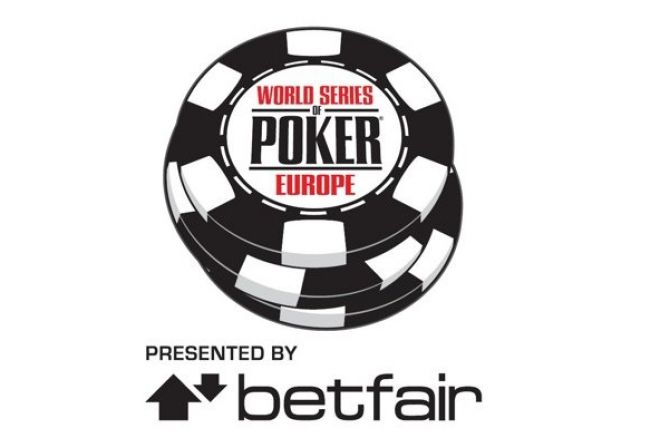 World Series of Poker Europe: Fabien Dunlop Leads Today's First Final Table 0001