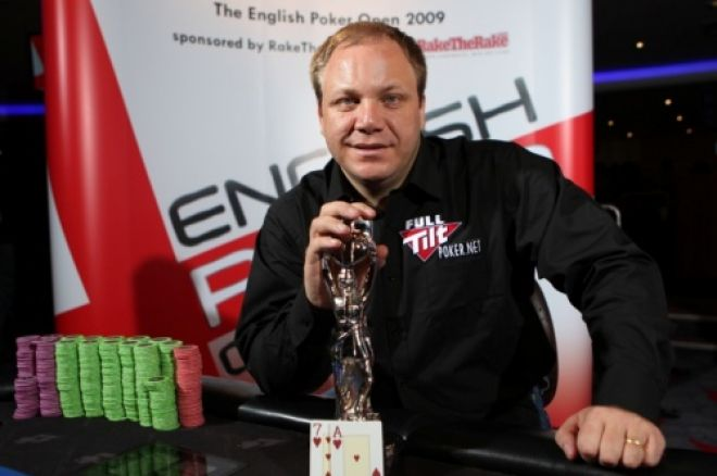 David La Ronde vinder English Poker Open (EPO) 0001