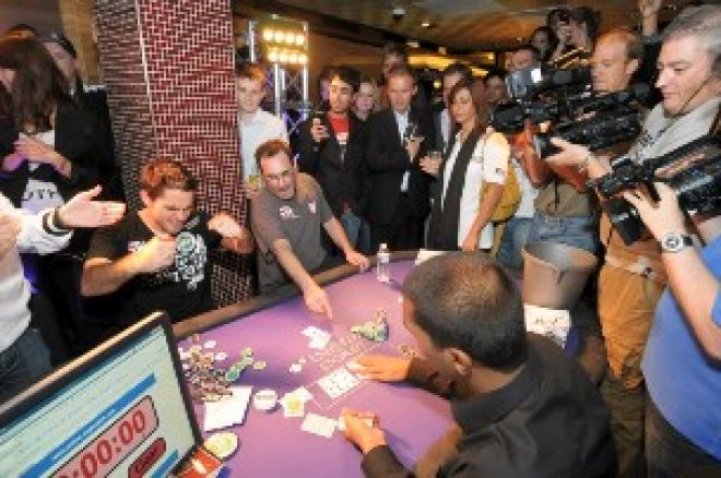 London's Calling: Paul Zimbler Breaks World Record, Star Studded £5000 PLO Final at WSOPE 0001