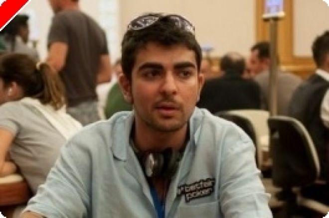 World Poker Tour Merit Cyprus Classic 데이 1 A:  John Tabatabai가 리드 0001