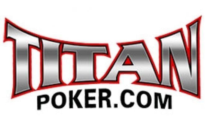 $1k Cash og inngang til Månedlig Million Turnering hos Titan Poker 0001