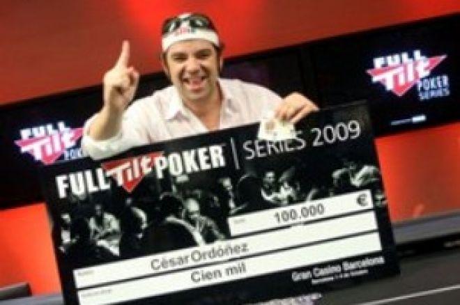 Full Tilt Poker Series de Barcelona: César Ordóñez, campeón 0001