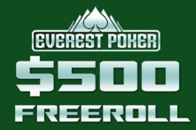 $500 cash-freeroll Everestis! 0001