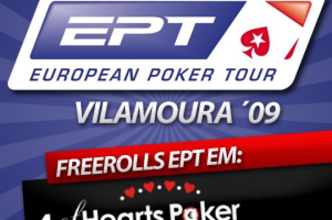 Freerolls EPT Vilamoura na 4 of Hearts Poker! 0001