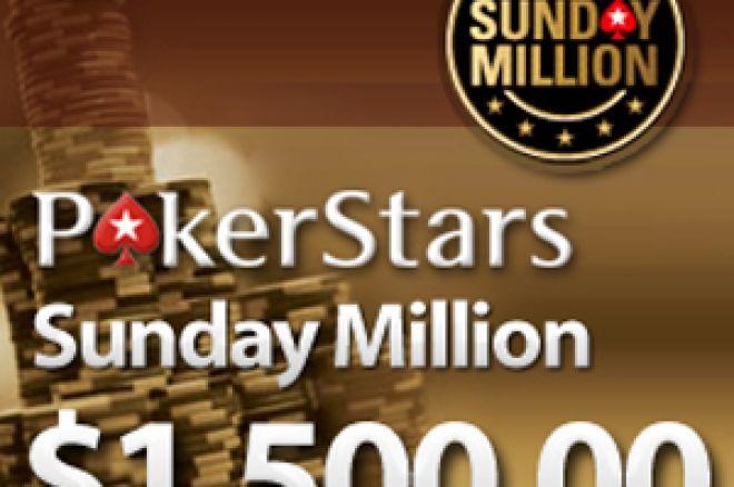 Hoje às 21:30 a PokerStars Oferece 5 Entradas no Sunday Million em Honra de... 0001
