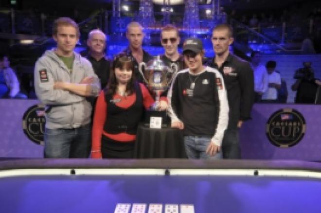 チームヨーロッパが初回のCasesars Cupで優勝 0001