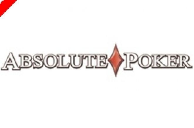 Hoje às 23:05 PokerNews $1215 Freeroll na Absolute Poker 0001
