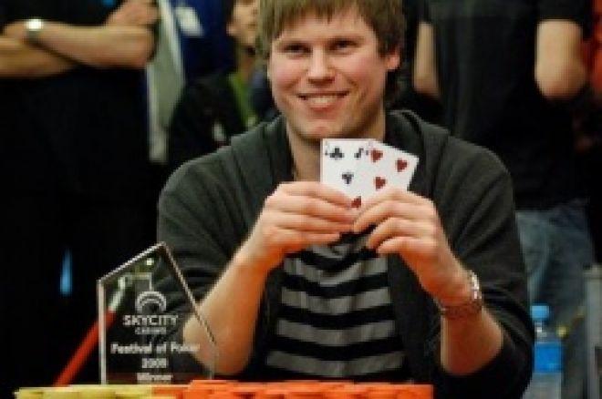 Simon Watt vinder 2009 Pokerstars.net APPT Auckland 0001