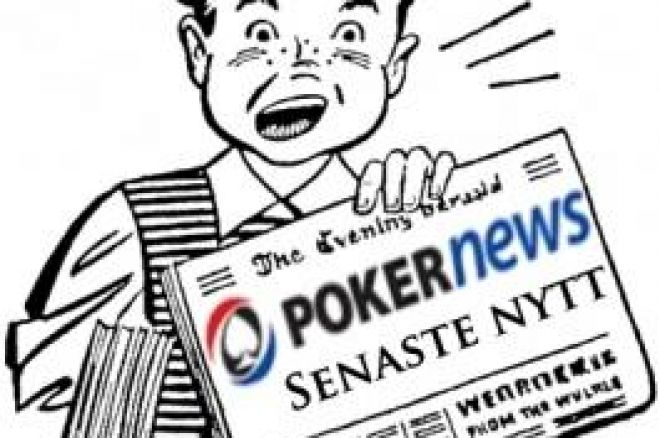 Senaste nytt - High Stakes Poker startfält klart, High Stakes Golf & mer