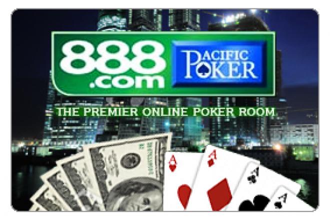 Уникальные $500 кэш фрироллы на 888 Poker 0001
