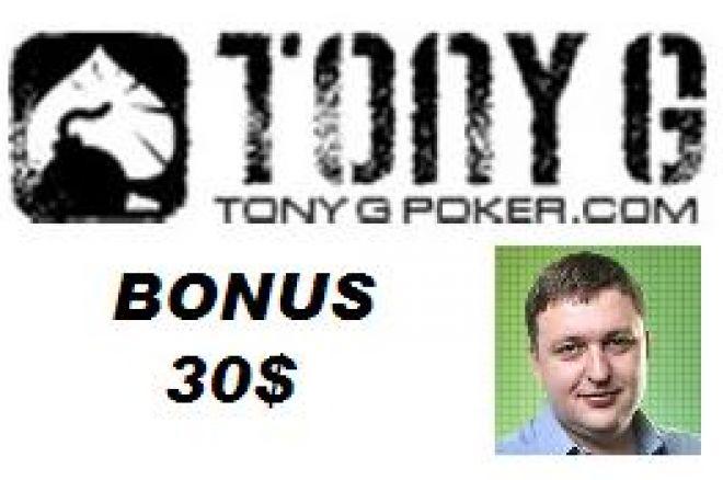 Tony G Poker 30
