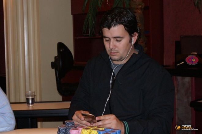 Németh 'Probirs' András a döntő asztalon az MCOP-n 0001