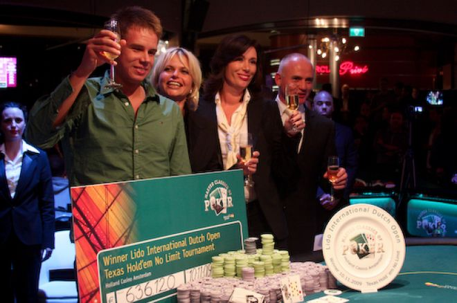 Kristoffer Thorsson wint 2009 Master Classics of Poker Main Event (€636.120)