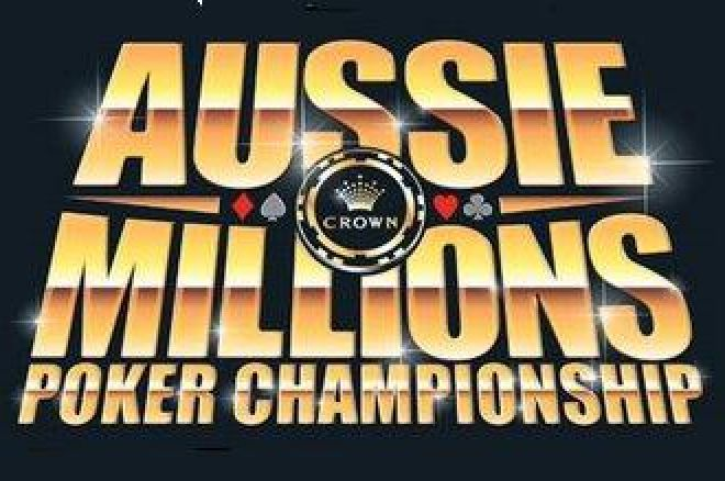 Aussie Millions - $15 000 PartyPoker pakke