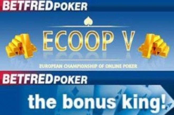 $5k Freerolly na Betfred 0001