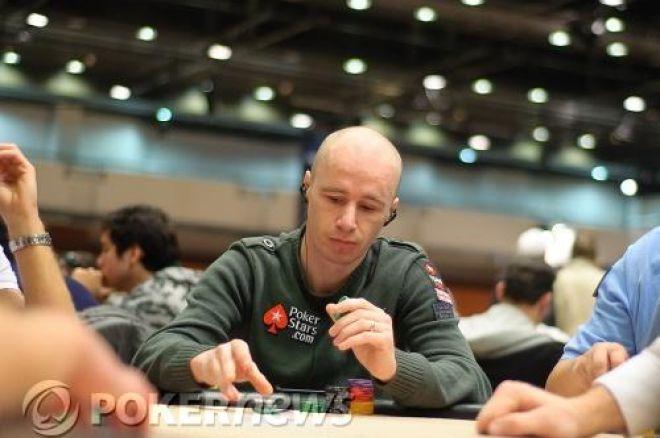 European Poker Tour Prague Day 1b, Jude Ainsworth Leads 0001