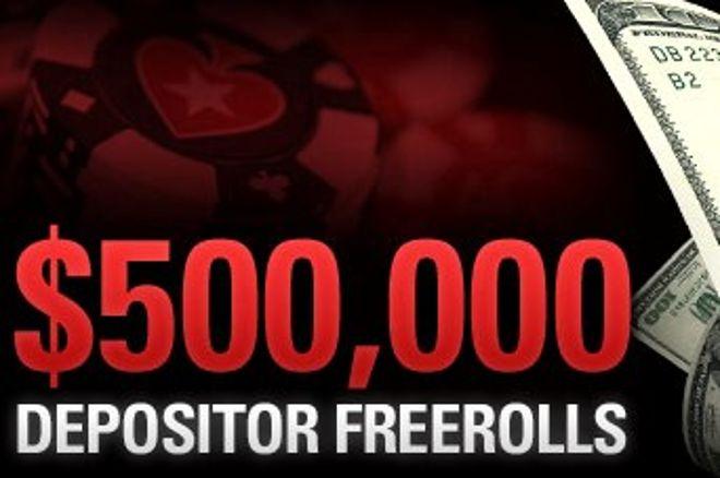$500,000 Depositer Freerolls from Pokerstars! 0001